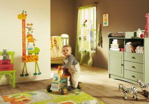 اتاق کودک و تزئین آن