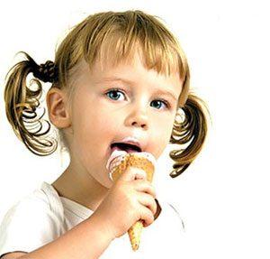 مصرف روزانه بستنی برای کودک ضرر دارد؟