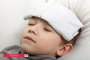 راه های طبیعی پایین آوردن تب در کودکان