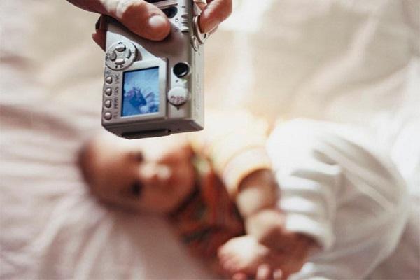 عکس گرفتن از نوزاد