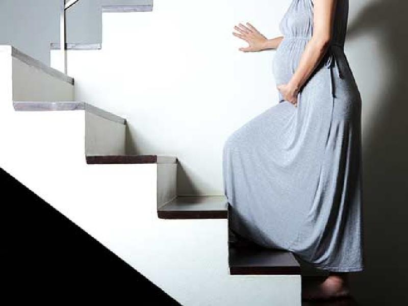 سقط جنین با پله نوردی